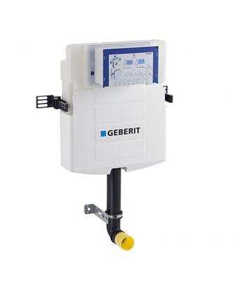 Geberit Omega Concealed Cistern 12cm, 6/3 Litres - Installation Height 106cm