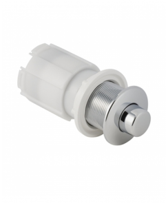 Palm Push Single Flush Pneumatic Button with Actuator for Furniture