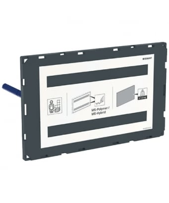 Geberit Sigma Cover Plate, Surface-Even - No Frame