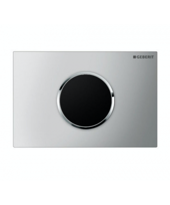 Geberit Sigma10 Electronic Dual Flush Plate - Battery Operation - For Sigma 12cm Cistern