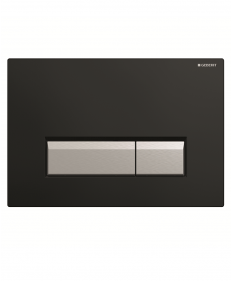 Geberit Sigma40 Dual Flush Plate with Odour Extraction - Plastic