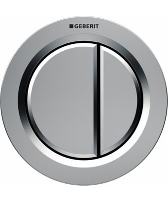 Geberit Type01 Dual Flush Pneumatic Button - For Furniture