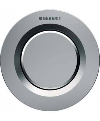 Geberit Type01 Single Flush Pneumatic Button - For 8cm Cisterns