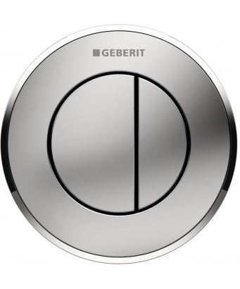 Geberit Type10 Dual Flush Pneumatic Button - For 12cm & 15cm Cisterns