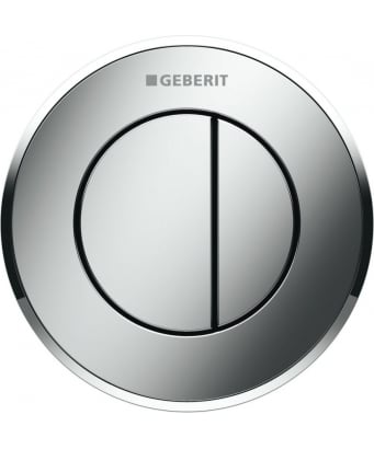Geberit Type10 Dual Flush Pneumatic Button - For 8cm Cisterns
