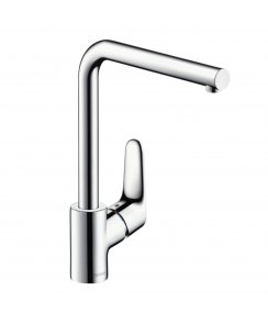Focus Single Lever Kitchen Mixer with Swivel Spout