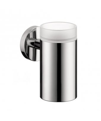 Hansgrohe Logis Glass Tumbler with Holder