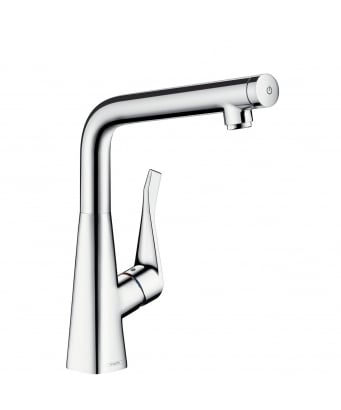 Hansgrohe Metris Select Single Lever Kitchen Mixer 320
