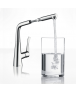 Hansgrohe Metris Single Lever Sink Mixer with Pull-Out Spout