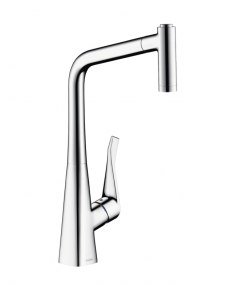 Metris Single Lever Sink Mixer with Pull-Out Spray