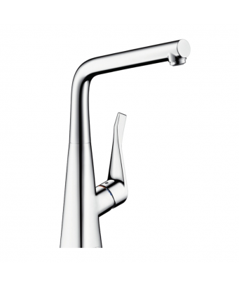 Hansgrohe Metris Single Lever Sink Mixer with Swivel Spout