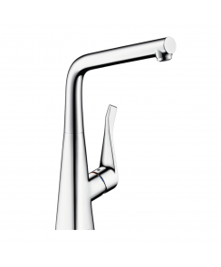 Metris Single Lever Sink Mixer with Swivel Spout