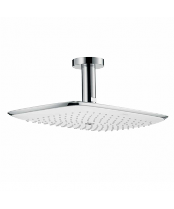 Hansgrohe Puravida Overhead Shower 400mm with 100mm Ceiling Connector