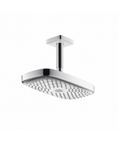 Raindance Select E 300 2Jet Overhead Shower with 100mm Ceiling Connector