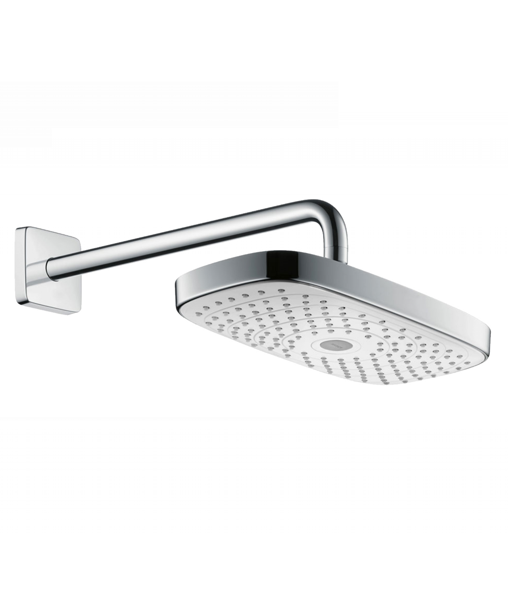 Hansgrohe Raindance Select E 300 2jet Overhead Shower With 390mm Shower Arm