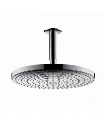 Hansgrohe Raindance Select S 240 2Jet Ecosmart Overhead Shower with 100mm Ceiling Connector