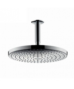 Raindance Select S 240 2Jet Ecosmart Overhead Shower with 100mm Ceiling Connector