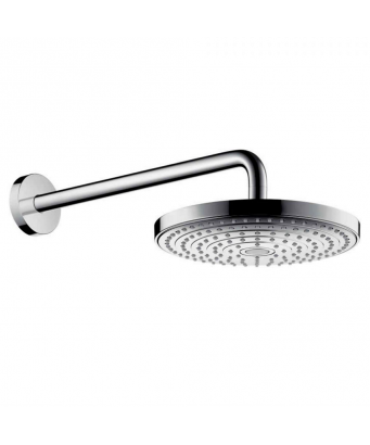 Hansgrohe Raindance Select S 240 2Jet Ecosmart Overhead Shower with 390mm Shower Arm