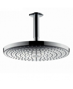 Raindance Select S 240 2Jet Overhead Shower with 100mm Ceiling Connector
