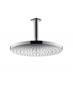 Raindance Select S 300 2Jet Overhead Shower with 100mm Ceiling Connector