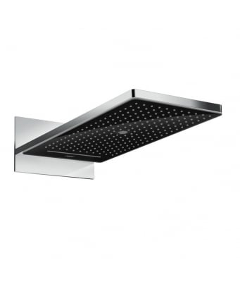 Hansgrohe Rainmaker Select 580 3Jet Overhead Shower - Black/Chrome