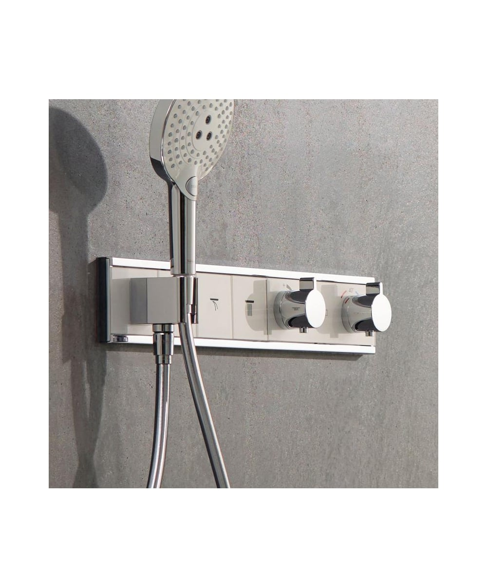 Hansgrohe RainSelect 3 Outlet Concealed Thermostatic Shower Mixer