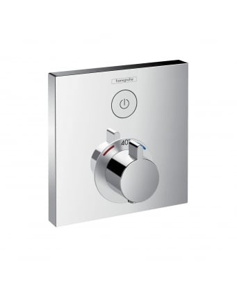 Hansgrohe ShowerSelect 1 Outlet Concealed Thermostatic Shower Mixer