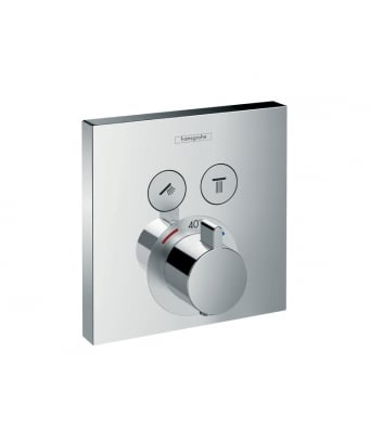 Hansgrohe ShowerSelect 2 Outlet Concealed Thermostatic Shower Mixer