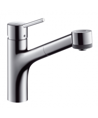 Hansgrohe Talis S Single Lever Sink Mixer with Pull-Out Spray