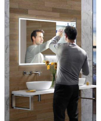 HIB Vanquish LED Mirror Cabinet