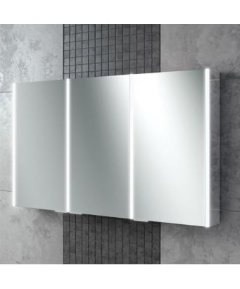 HIB Xenon Illuminated LED Mirror Cabinet