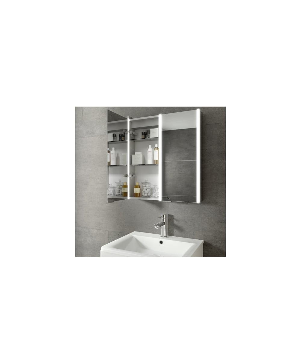 mirrors cabinets hib hib xenon illuminated led mirror