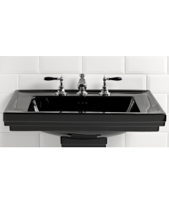 Astoria Deco Black Washbasin