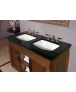 Imperial Astoria Deco Black Washbasin