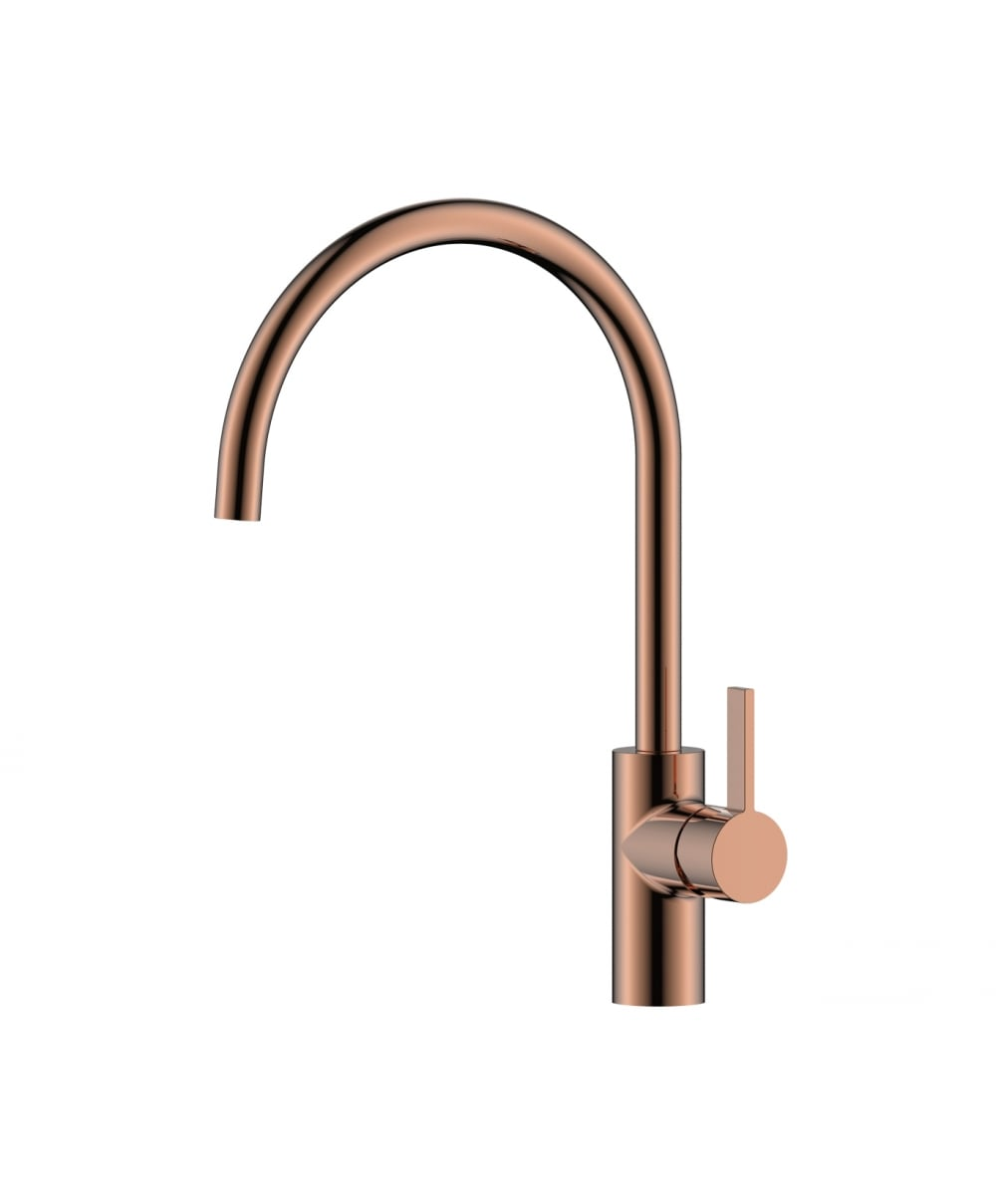 Single Lever Kitchen Sink Mixer - Rose Gold