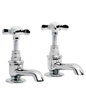 Lefroy Brooks Classic Basin Pillar Taps