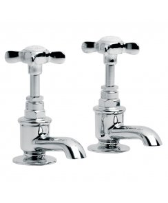 Classic Cloakroom Short Nose Basin Pillar Taps