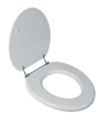 Lefroy Brooks Classic Toilet Seat - Gloss White