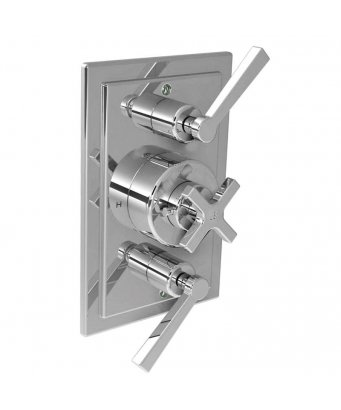Lefroy Brooks Concealed Mackintosh Dual Flow Control Thermostatic Mixing Valve