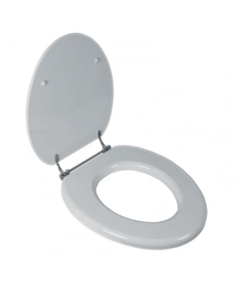 Lefroy Brooks La Chapelle Toilet Seat - Gloss White