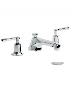 Mackintosh Lever Three Hole Basin Mixer with Pop-Up Waste