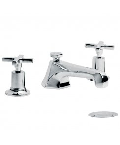 Mackintosh Three Hole Basin Mixer with Pop-Up Waste