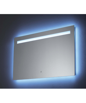 No Code Dorado LED Mirror