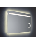 No Code Dorado LED Mirror with Magnifying Mirror