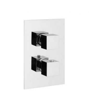 ONE Thermostatic Shower Valve - Anthracite