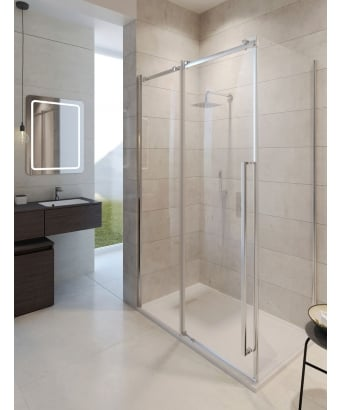 Simpsons Pier Sliding Shower Door
