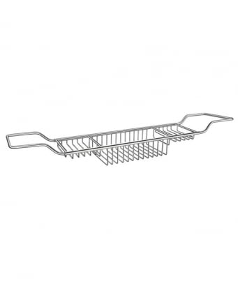 Smedbo Sideline Adjustable Bath Rack 670-830mm
